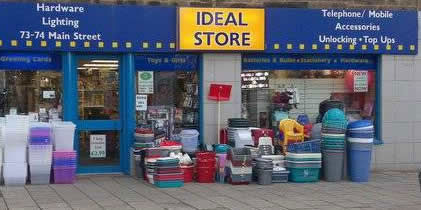 Ideal Store shop front